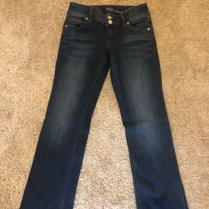 New York and Company bootcut Jeans size 0 petite